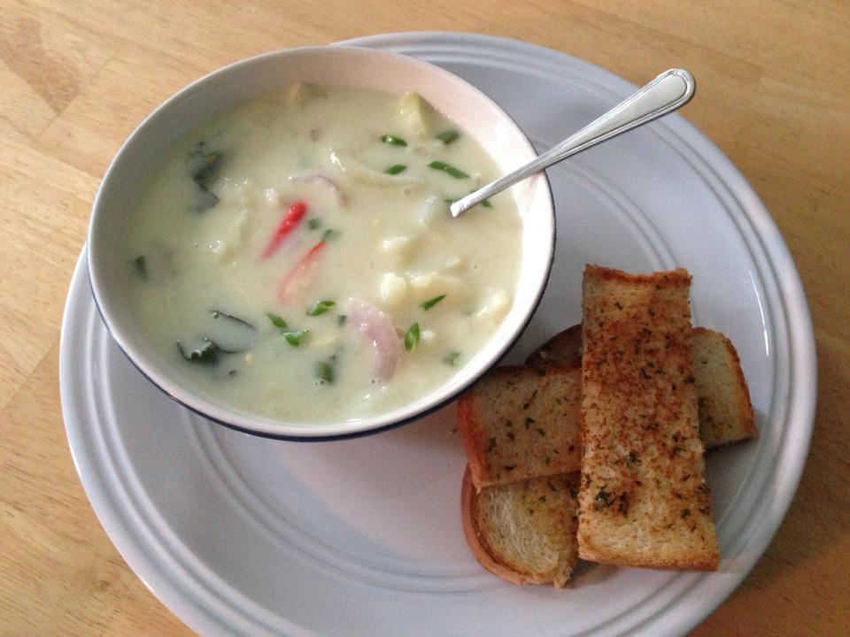 Potato Stew in coconut milk